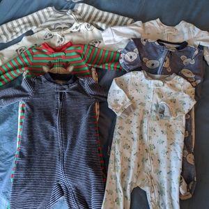 Other - Bundle of 7 baby sleepers. 9month